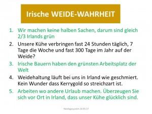Irische WEIDE-WAHRHEIT